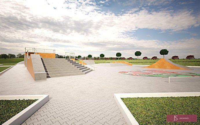 projekt skateparku