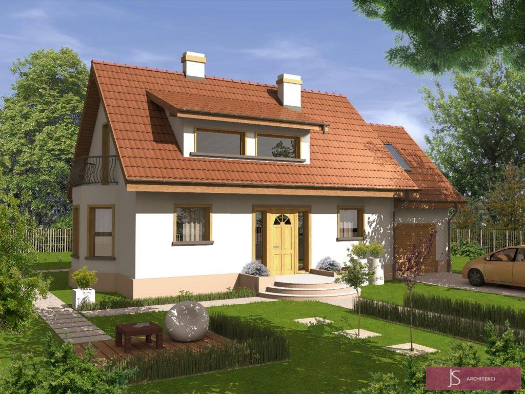 dom fiołek ogród