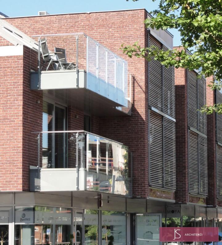 projekt apartamentowo-biurowy