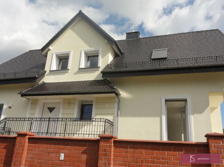 modernizacja budynku elewacja frontowa