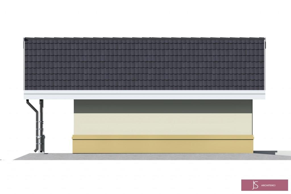 elewacja garaż JS1