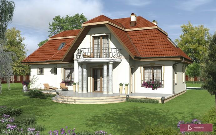 projekt domu lilia
