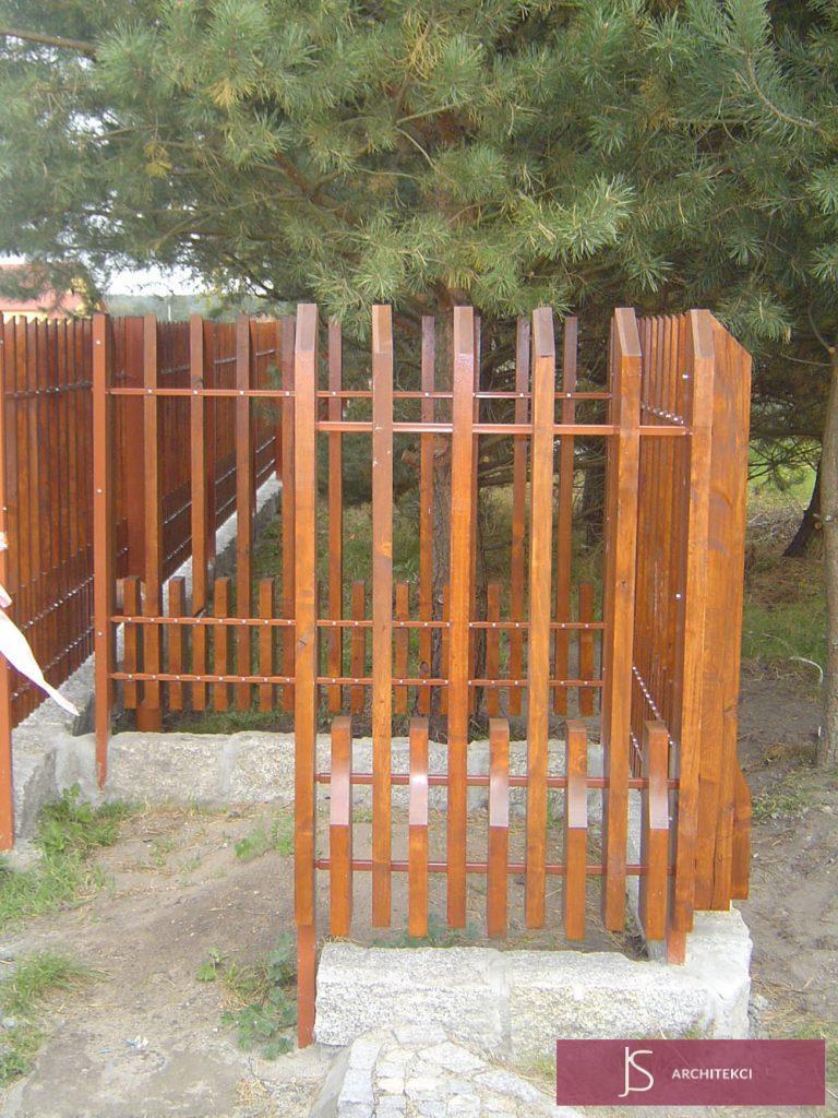 Ogrodzenie drewniane