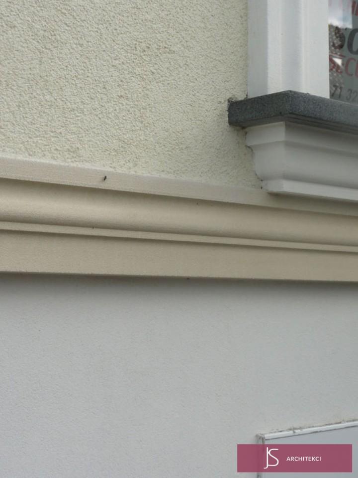 modernizacja budynku - opaska okienna