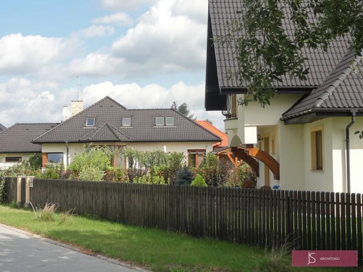 projekt osiedla domków
