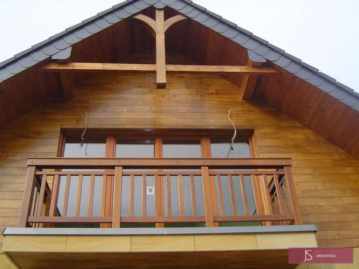 rezydencja elewacja balkon
