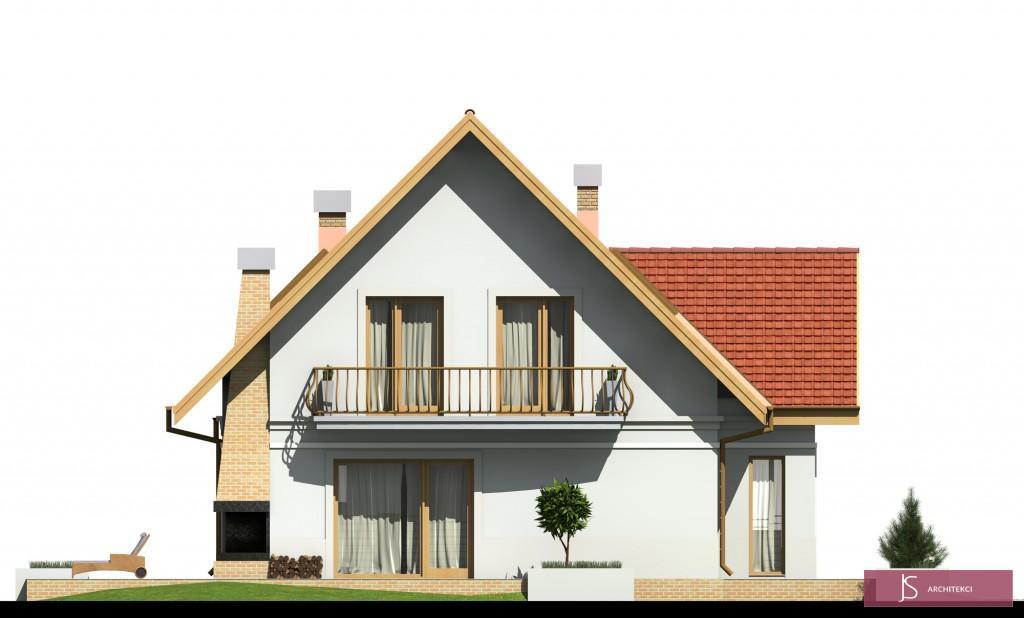 elewacja domu stokrotka