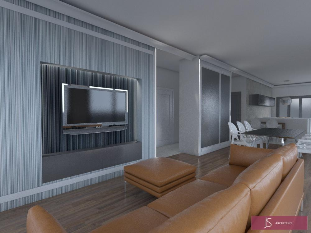 Apartamenty hotelowe - projekt