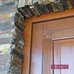 detale w drzwiach zewnętrznych