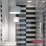 projekt łazienki biurowej