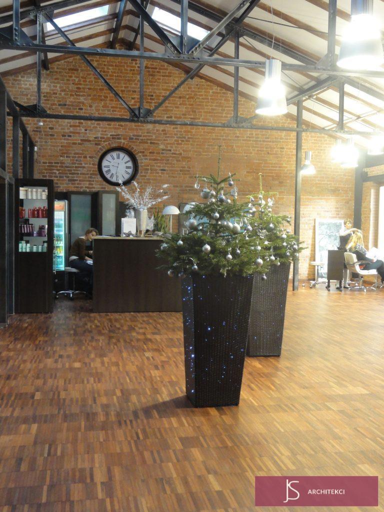projekt pomieszczenia firmowego