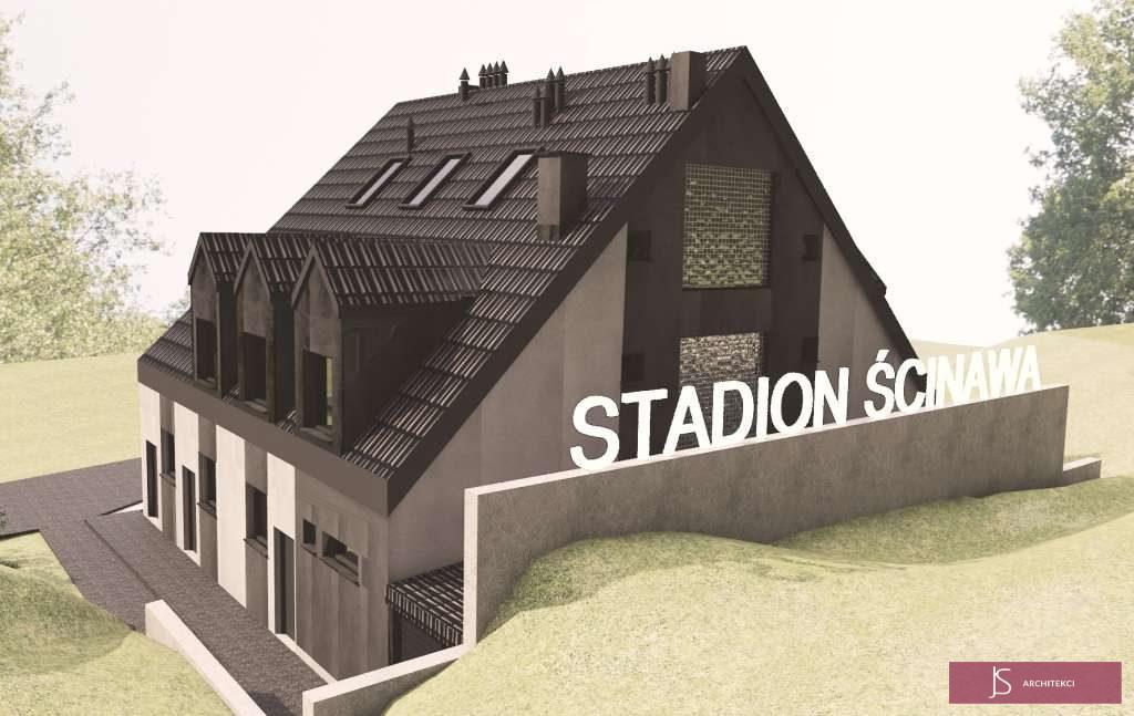 projekt budynku socialnego